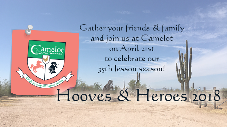 Hooves and Heroes 2018 - April 21